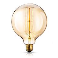billige Glødelampe-1pc 40W E26/E27 G125 2300 K Glødende Vintage Edison lyspære 220V-240V V