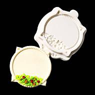 billige Bakeredskap-1pc Nyhet For kjøkkenutstyr Silikon Multifunksjonell Cake Moulds