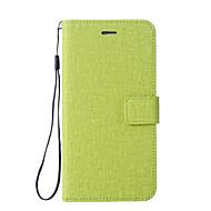 billiga Mobil cases & Skärmskydd-fodral Till Xiaomi Redmi not 5A Redmi Note 4 Korthållare Plånbok med stativ Lucka Fodral Ensfärgat Hårt PU läder för Redmi Note 5A Xiaomi