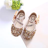 baratos Sapatos de Menina-Para Meninas Sapatos Glitter Verão Primeiros Passos Sandálias Cristais para Dourado / Prata / Rosa claro