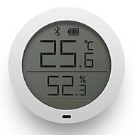baratos Renovando-Adesivos hygrothermograph xiaomi monitor magnético em tempo real de temperatura e umidade sensor de tela de lcd 1 pc pc bluetooth app