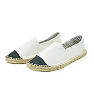 tanie Obuwie męskie-Męskie Buty Len Lato Comfort Mokasyny i pantofle na Casual White Gray Niebieski