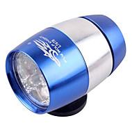 billige Sykkellykter og reflekser-Hodelykter sikkerhet lys Frontlys til sykkel Laser Sykling Justerbart Fokus knapp batteri 18650 Lumens Batteri Camping/Vandring/Grotte