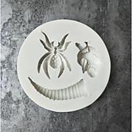 billige Bakeredskap-Bakeware verktøy silica Gel / Imiteret Rhodium baking Tool Kake / spirende Dessertverktøy / Pasta Verktøy 1pc