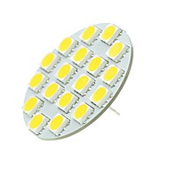 billige Bi-pin lamper med LED-SENCART 1pc 5W 540 lm G4 LED-lamper med G-sokkel T 18 leds SMD 5730 Dekorativ Varm hvit Kjølig hvit 12-24V