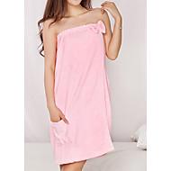 tanie Ręcznik kąpielowy-Świeży styl Ręcznik kąpielowy, Jendolity kolor Najwyższa jakość Poly / Cotton Poliester Blend Ręcznik