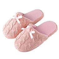 tanie Pantofle-Zwyczajny Pantofle dla gości Pantofle Pantofle damskie Pantofle męskie Poliester Spinning Bawełna Bawełna Jeden kolor
