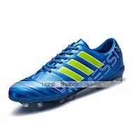 Χαμηλού Κόστους Παπούτσια ποδοσφαίρου-Ανδρικά Λουστρίν Φθινόπωρο / Χειμώνας Ανατομικό Αθλητικά Παπούτσια Ποδόσφαιρο Μαύρο / Ασημί / Μπλε