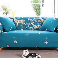 billige Overtrekk-Moderne Rustikk 100% Polyester Mønstret Toseters sofatrekk, Enkel Blomstret Dyremønster Trykket slipcovere
