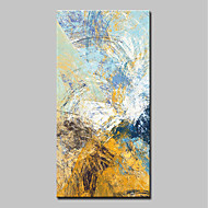cheap Oil Paintings-Oil Painting Hand Painted - Abstract Pop Art Modern Canvas