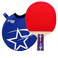 tanie Tenis stołowy-DHS® R1006 CS Ping Pang/Rakiety tenis stołowy Gumowy 1 gwiazdka Krótki uchwyt Pryszcze