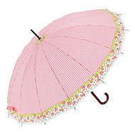 baratos Mais Populares-boy® Tecido Homens / Mulheres Ensolarado e chuvoso / Prova-de-Vento Guarda-chuva Reto