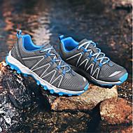 baratos Sapatos Masculinos-Homens Sapatas de novidade Tule Primavera / Verão Tênis Aventura Preto / Azul Escuro / Cinzento Escuro