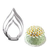billige Bakeredskap-Bakeware verktøy Rustfritt Stål Bursdag / GDS Til Småkake / Til Kake / spirende Kronblad Bake & Mørdeigs Verktøy / Kakekuttere 3pcs