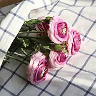 billige Kunstig Blomst-Kunstige blomster 1 Afdeling pastorale stil / Brudebuketter Roser Bordblomst