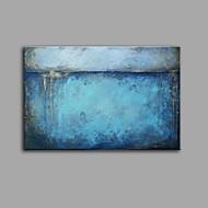billiga Stilleben-Hang målad oljemålning HANDMÅLAD - Abstrakt Stilleben Samtida Vintage Duk