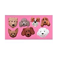 billige Bakeredskap-Hunder Dagligdags Brug For kjøkkenutstyr silica Gel Kreativ Kjøkken Gadget baking Tool