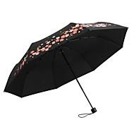 billige Bestselgere-Tøy Dame Sol & Regn / Vinntett / ny Sammenfoldet paraply