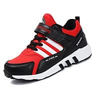 tanie Obuwie chłopięce-Dla chłopców Buty Guma Wiosna Comfort Buty do lekkiej atletyki na Na wolnym powietrzu Black Dark Blue Black/Red