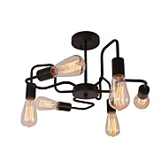 billige Takbelysning og vifter-CXYlight 6-Light Lysekroner / Takplafond Omgivelseslys Malte Finishes Metall 110-120V / 220-240V Pære ikke Inkludert