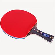 baratos Tenis de Mesa-DHS® R5002C Ping Pang/Tabela raquetes de tênis Madeira Borracha 5 Estrelas Cabo Comprido Espinhas