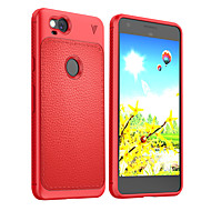 billiga Mobil cases & Skärmskydd-fodral Till Google Pixel 2 XL Pixel 2 Stötsäker Frostat Skal Ensfärgat Mjukt TPU för Pixel 2 XL Pixel 2