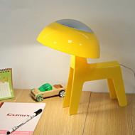billige Skrivebordslamper-Enkel Oppladbar Skrivebordslampe Til Plast DC 5 V Blå / Rosa / Gul