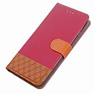 billiga Mobil cases & Skärmskydd-fodral Till Huawei Honor 9 Korthållare Plånbok med stativ Lucka Magnet Fodral Geometriska mönster Hårt PU läder för Honor 9 Honor 8 Honor