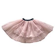 Djevojčice Poliester Cvjetni print Dnevno Proljeće Suknja Vintage Blushing Pink