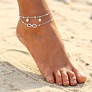 Dvaput Slojeviti Boemski stil beskraj Imitacija Pearl Kratka čarapa - Žene Zlato Pink Kratka čarapa Za Večer stranka Bikini