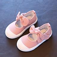 baratos Sapatos de Menina-Para Meninas Sapatos Tecido Primavera / Outono Conforto Tênis para Cinzento / Azul / Rosa claro