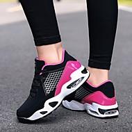 baratos Sapatos Masculinos-Homens Couro Sintético Outono Conforto Tênis Cinzento / Vermelho / Rosa claro