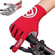 levne Cyklistické rukavice-Akvitita a sport Dotykové rukavice Cyklistické rukavice Protiskluzový Prodyšné Mikrovlákno Lycra Spandex Silniční cyklistika Cyklistika /