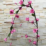 billige Kunstig Blomst-Kunstige blomster 1 Afdeling Luksus / Europæisk Orkideer Vægblomst