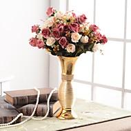 billige Kunstig Blomst-Kunstige blomster 0 Afdeling Luksus / Europæisk Vase Bordblomst