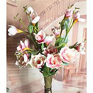 billige Kunstig Blomst-Kunstige blomster 1 Afdeling Moderne / Nutidig Planter / Orkideer Bordblomst