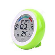 Touch Screen Digital Temperature Humidity Thermometer Hygrometer Sensor de Temperatura Humidade Plataforma TermómetroforCasa