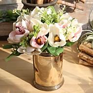 billige Kunstig Blomst-Kunstige blomster 6 Afdeling pastorale stil / Bryllup Orkideer Bordblomst