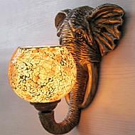 baratos Arandelas de Parede-Antirreflexo Rústico / Campestre Luminárias de parede Sala de Estar Metal Luz de parede 220-240V 40W