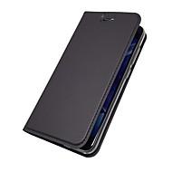 billiga Mobil cases & Skärmskydd-fodral Till Huawei Honor View 10(Honor V10) / Honor 7X Korthållare / med stativ / Lucka Fodral Enfärgad Hårt PU läder för Honor 9 / Honor 8 / Honor 7X