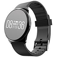 tanie Inteligentne zegarki-Inteligentne Bransoletka Ekran dotykowy Pulsometr Wodoszczelny Spalone kalorie Krokomierze Wielofunkcyjne Informacje Krokomierz