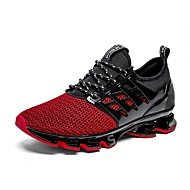 cheap -Men's Novelty Shoes Tulle Summer Athletic Shoes Running Shoes Black / Green / Red / EU40