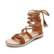 Choix De La Vente Ordre D'achat Pas Cher Avant Mujer Zapatos Cuero Nobuck Verano Confort Sandalias Tacón Plano Negro / Gris / Wine ouq9oDD0
