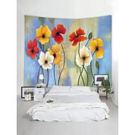 Zahradní motiv Krajina Wall Decor 100% polyester Moderní Wall Art, Nástěnné tapiserie Dekorace