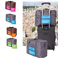 preiswerte -0.1-Reiseseesack Reisetasche Wasserdicht Klappbar Reise Dick Outdoor Leicht für Rollkoffer Polyester 46*34.5*20cm Unisex Reise Draußen