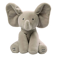 Baby Animated Flappy Elefant Kosedyr Singing Smuk Jente Leketøy Gave