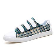 baratos Sapatos Masculinos-Homens Couro Ecológico Primavera / Outono Conforto Tênis Vermelho / Castanho Escuro / Verde Escuro