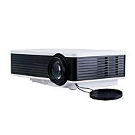 tanie Ulepszanie domu-inteligentny przenośny projektor kina domowego rozrywka film rozdzielczość wvga podświetlenie led niski poziom hałasu