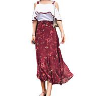 Žene Bluza - Cvjetni print Suknja