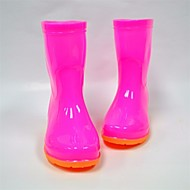 baratos Sapatos de Menina-Para Meninos / Para Meninas Sapatos Borracha Primavera Verão Conforto / Botas de Chuva Botas para Azul / Rosa claro